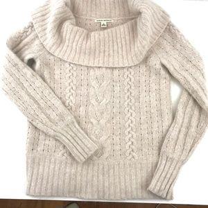 Banana Republic Sweaters - Banana Republic Angora Blend Cowl Neck Sweater